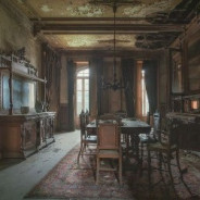 Заброшенная (основная) кухня №1