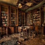 Заброшенная библиотека №1