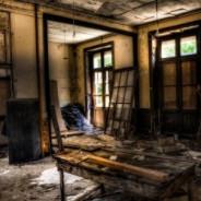 Заброшенное здание университета
