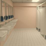 Женский туалет на 3 этаже