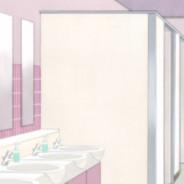 Женский туалет на 1 этаже